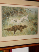 Steady, Framed Thomas Blinks Lithograph