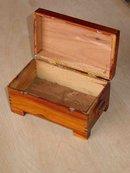 Vintage Solid Cedar Gettysburg, Pennsylvania Souvenir Box