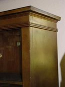 Solid Pine Antique Gold Painted Bookcase