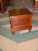 Antique Heal & Son Solid Mahogany Commode & Chamber Pot