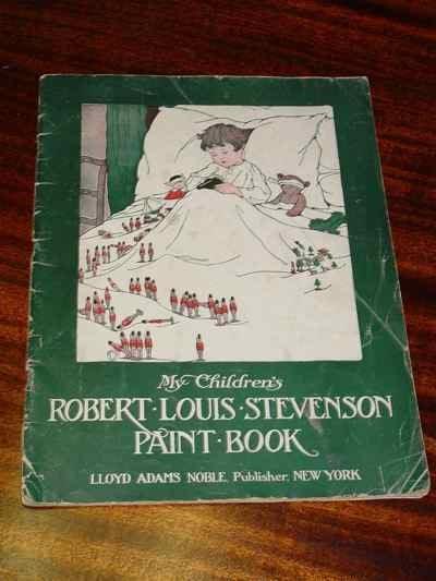 My Children's Robert Louis Stevenson Paint Book