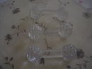 Hand-Cut Lead Crystal Knife Rest, Set of 3