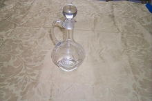Hand-Cut  Crystal Wine Decanter