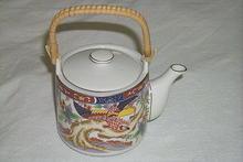 Japanese Gold Imari Porcelain Teapot