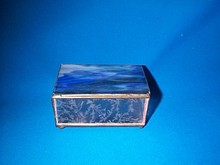 Miniature Stained Glass Box