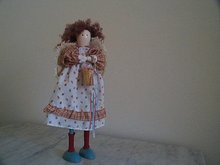 Wooden Crafted doll