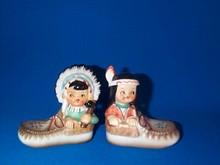 Indian Boy and Girl Salt & Pepper Set