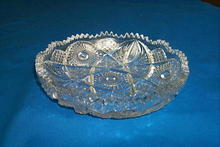 American Brilliant Cut Glass Bowl by Imperial Glass.
