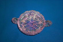 Carnival Glass Candy Dish by U. S. Glass Co.