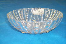 Columbia Pattern Serving Bowl By Federal Glass Co