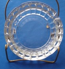 Crystal  Glass Ashtray