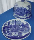 Stoneware Covered Plate made in England