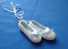 Porcelain Ballerina Slippers