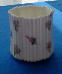 German Egg-Shell Porcelain Toothpick Holder