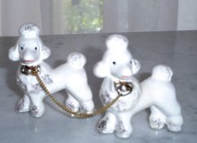 50s, Set of 2, Puddle Dogs  Figurine