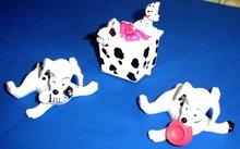 Set of 3, Disney Dalmatian Dogs