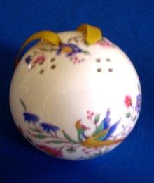 English Porcelain Pomander