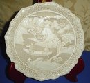 Japanese Decorative Carved Plate