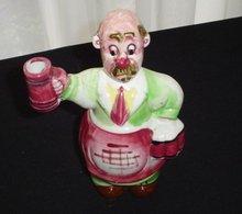 Irish Figural Liquor Decanter