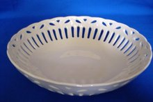 White Porcelain Basket
