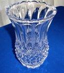 Hand Cut Lead Crystal Vase