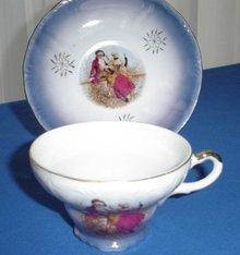 Royal Crown Porcelain Cup w/Saucer