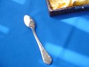 901 Silver Demitasse Spoons,  Gilf Set of 6