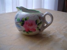 Porcelain Oriental Creamer Made in Japan