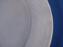 Large Frosted Glass Serving Plate