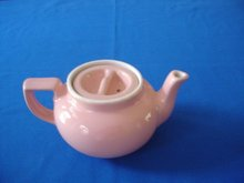 Boston Sunken Cover Tea Pot by Hall China Co.