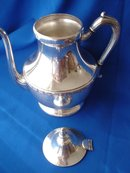 Silver Plated On Copper, 3 Pieces, Tea Set by National Silver Co.