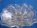 Depression Period Pressed Glass Bowl