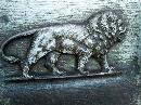 Bradley & Hubbard LION Cast Iron Bookends - Metalware