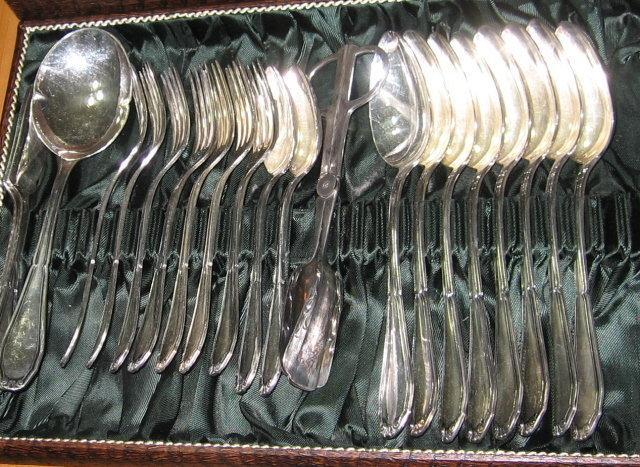 Schmachtenberg & Benninghoven Silver Flatware - 73 piece German Silver