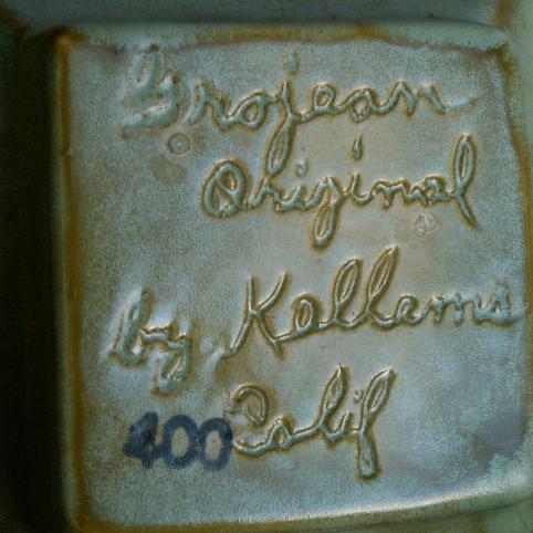 Four Pieces Kellems California Ceramic Kitchen Wear - Porcelain