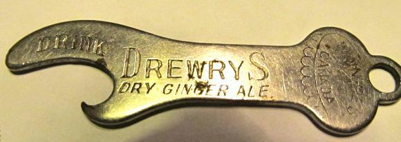 DrewryS Dry Ginger Ale Opener