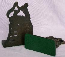 Cast Iron BRONCO RIDER Bookends - Metalware