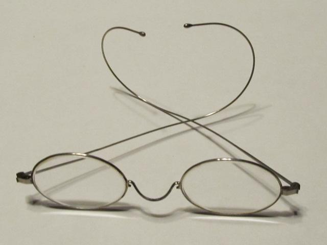 Eye Glasses Child's  Oval Wire Rim - Glass
