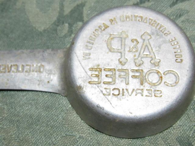 A&P COFFEE Measure Spoon - Metalware