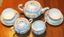 Nipon Art Deco Tea Set - Fine Porcelain
