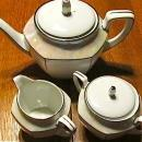 R.S. Germany Lustre 9 piece Tea Set - Fine Porcelain
