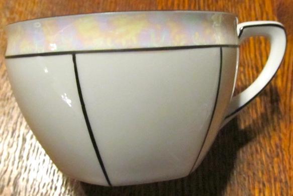 R.S. Germany Lustre 9 piece Tea Set - Fine Porcelain
