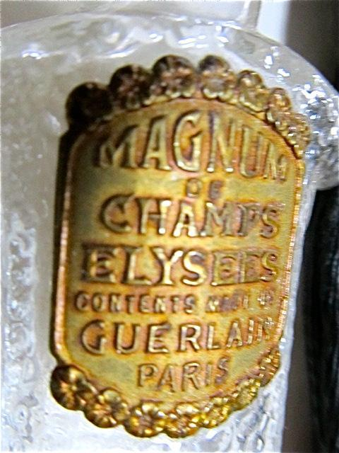 MAGNUM of CHAMPS ELYSEES Guerlain Paris Perfume - glass