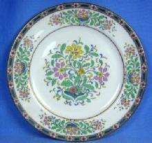 Lenox  MYSTIC Plate - Vintage Pottery Porcelain with Gold Trim