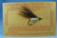 BLACK SKUNK  Fly Fishing Lure - Vintage Sporting Bait