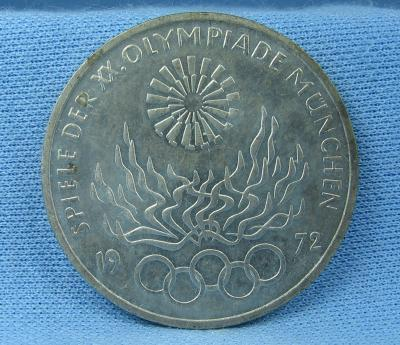 old 1972 Olympic Coin - Vintage Sporting Collectible