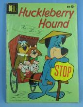 HUCKLEBERRY HOUND #3 Jan-Feb 1960 Comic Book - Vintage paper collectible