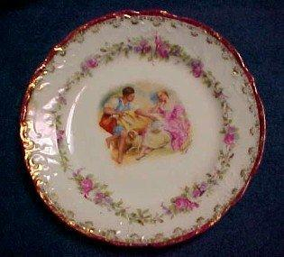 Carlsbad Hand Victoria Painted Bausher - Porcelain/Fine China