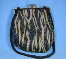 Vintage BEADED Purse Handbag - Misc Apparel Accessory
