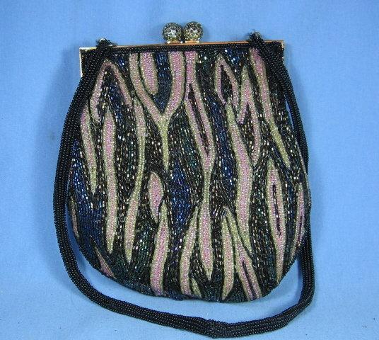 Vintage BEADED Purse Handbag - Misc Apparel Accessory